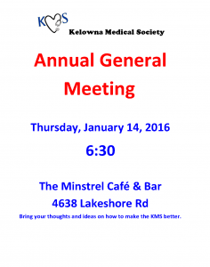 KMS Annual General Meeting 2016