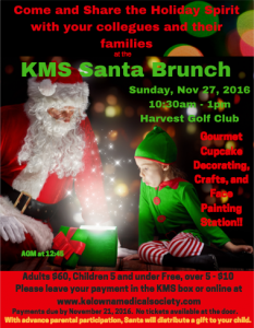 KMS Santa Brunch 2016
